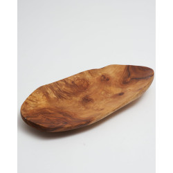 Eco-responsible plate Recycled wood