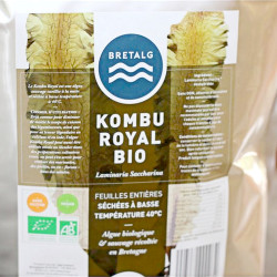 Royal Kombu leaves dried algae low temperature